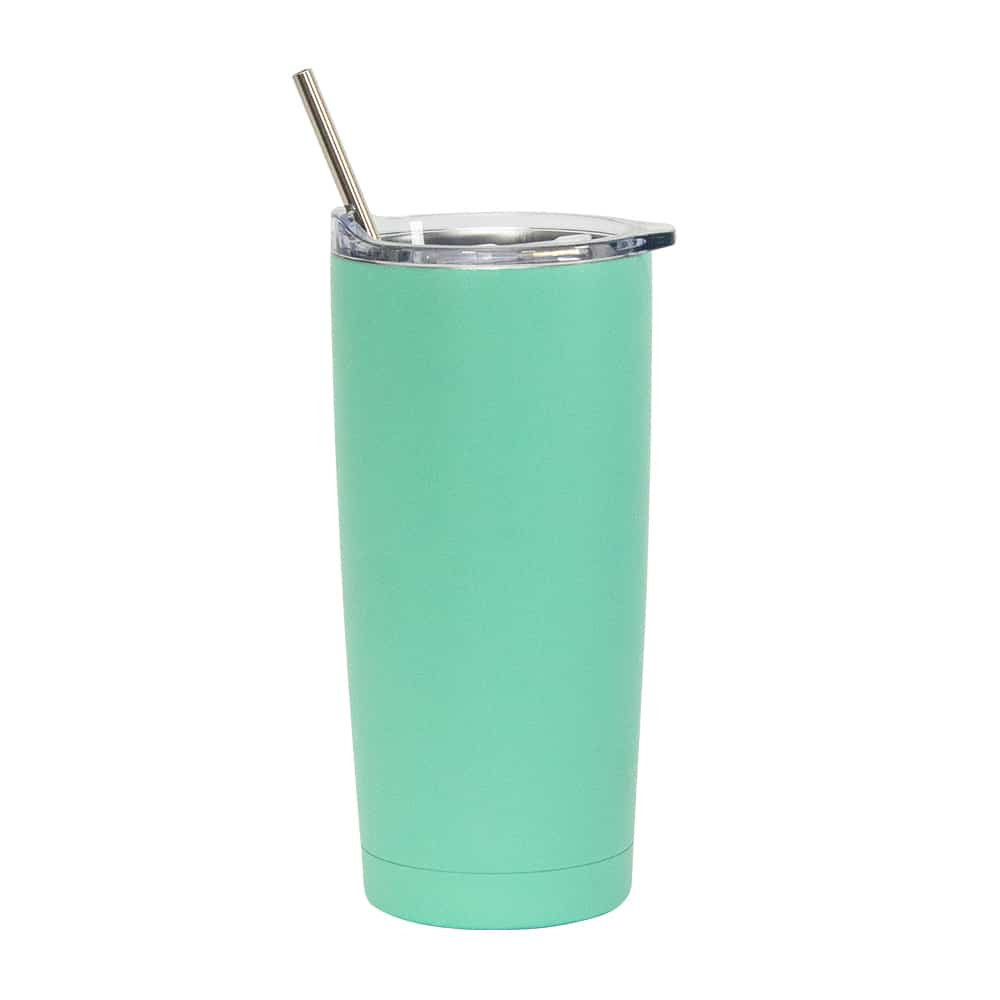 Smoothie Tumbler – Double Walled – S'Steel - Mint