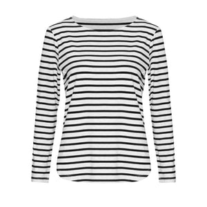 The Adele Tee in Stripe