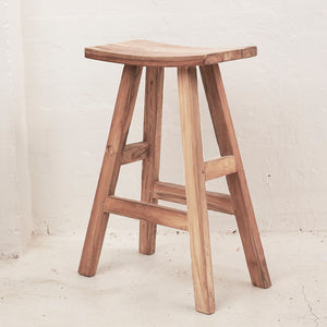 Sena Rustic Bar Stool Extra Tall