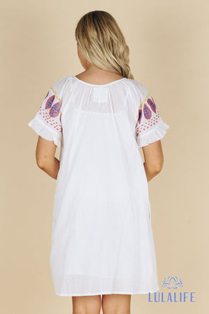 Bribie Dress White XS