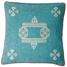 Ruby Star Santa Fe Cushion Teal