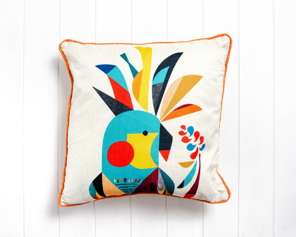 Cockatoo Cushion - Feather Insert