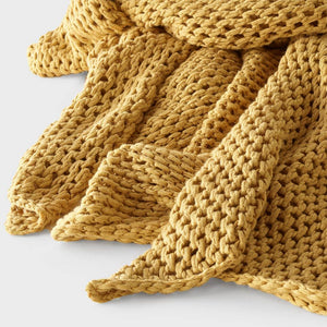 Abrazo Throw - Spun Gold