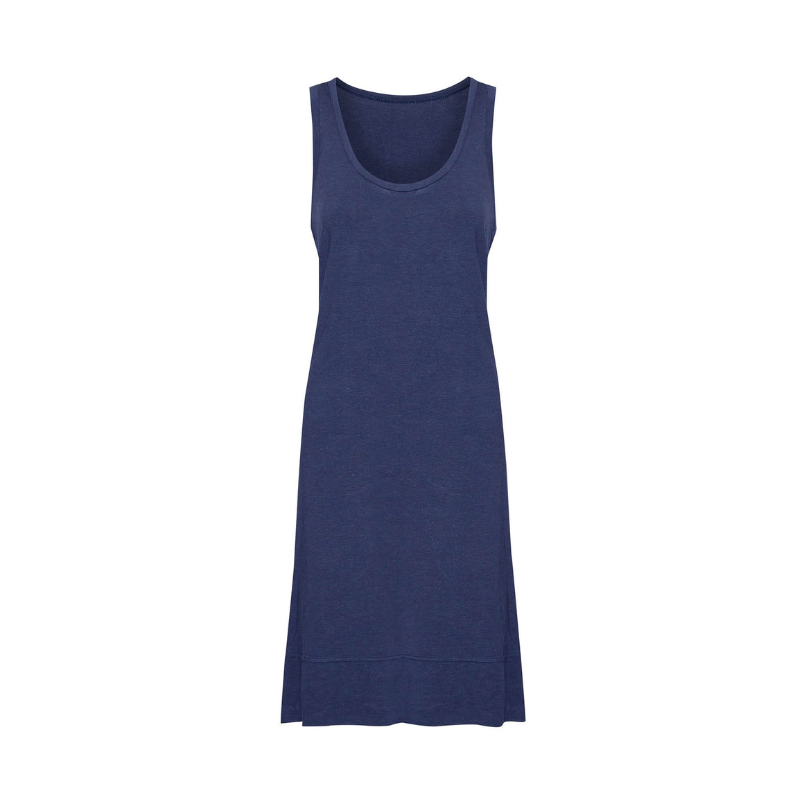 The Ella Tank Dress - Indigo Marle