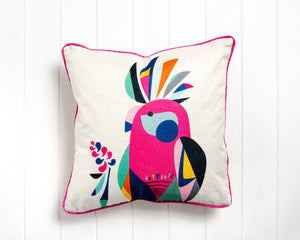 Rachel Lee - Galah Cushion - 45 x 45 - Feather Insert