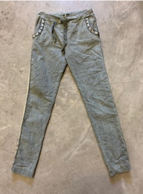 Italian Star Trim Pocket Stretch Pant