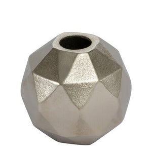 Honeycomb Hexagon Vase Nickel
