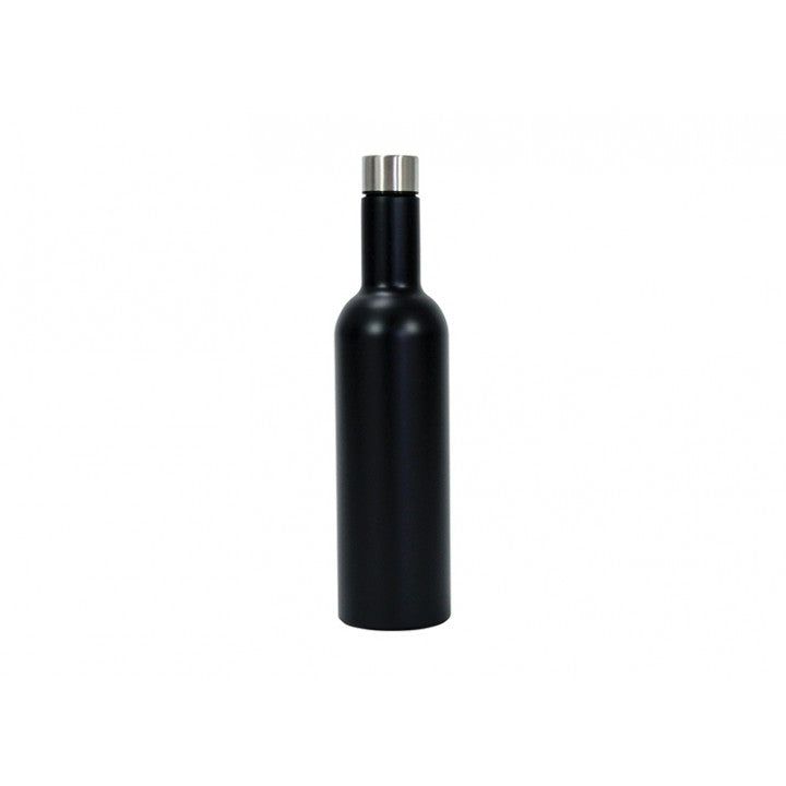 Insulated Wine Bottle Black