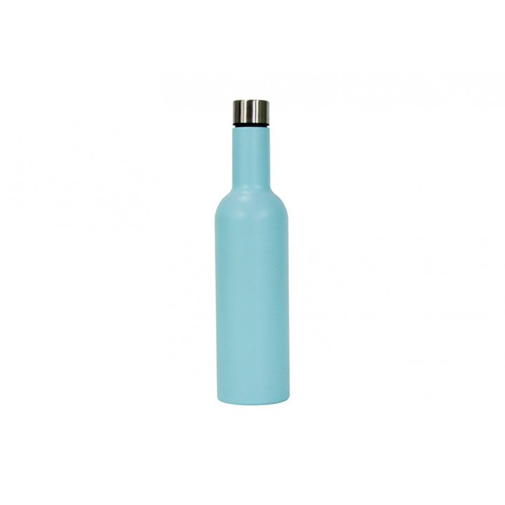 Insulated Wine Bottle Blue