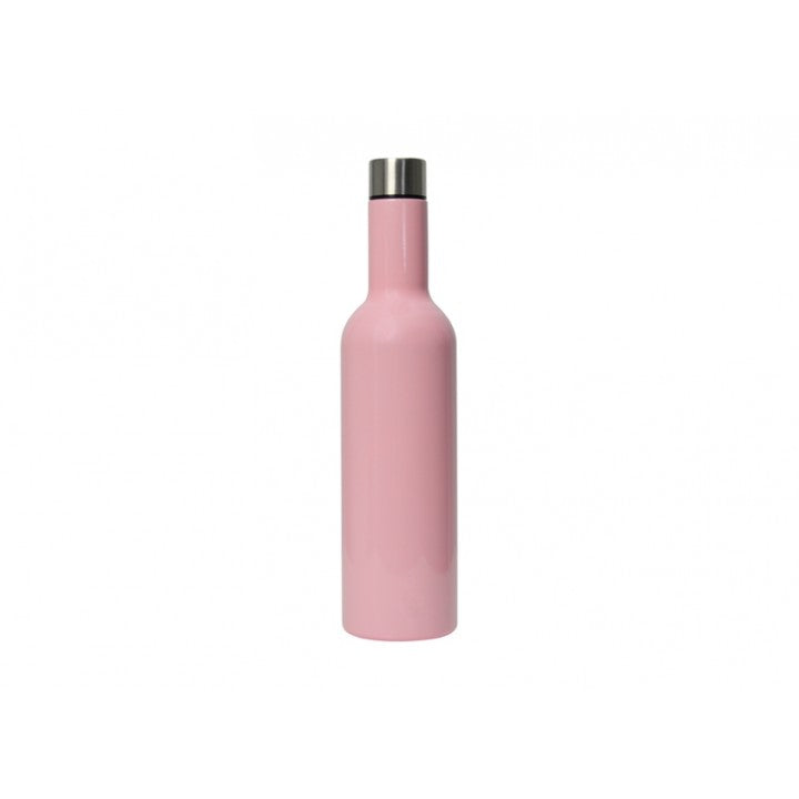 Insulated Wine Bottle Candy Pink