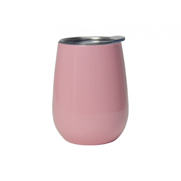Insulated Wine Tumbler Candy Pink