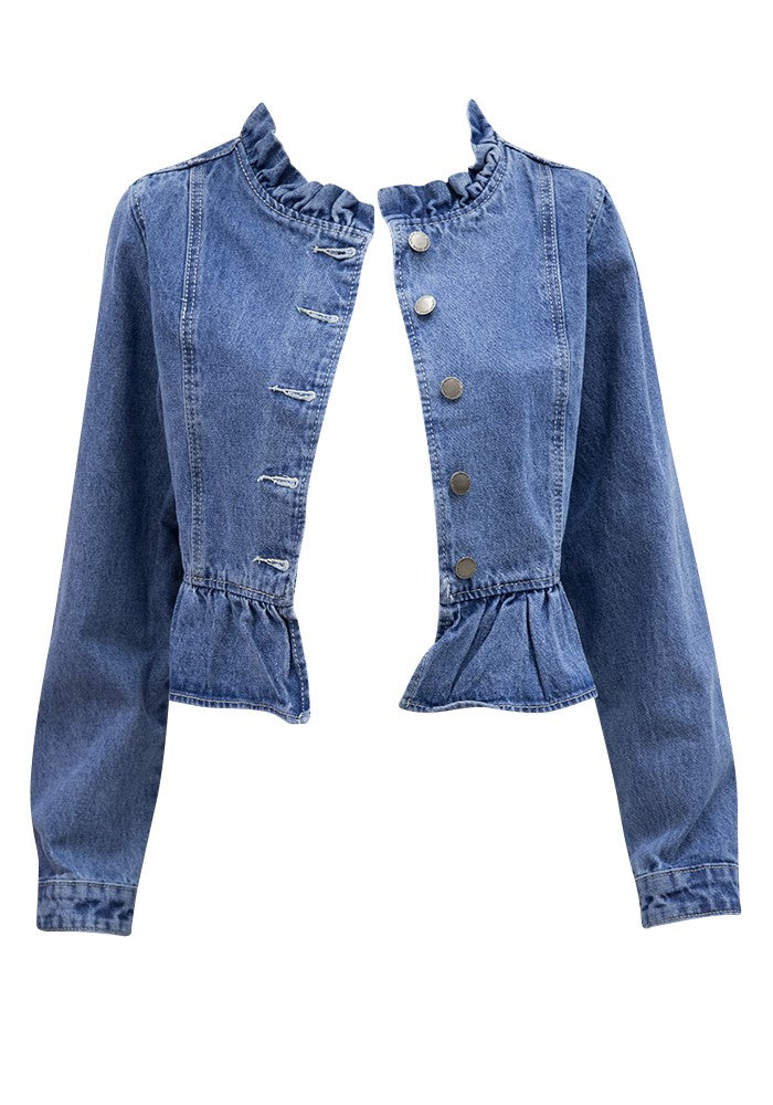 Country Denim Cropped Jacket
