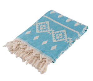 Hasus Turkish Towel Sky Blue