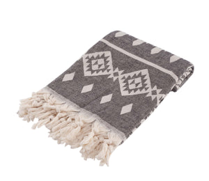 Hasus Turkish Towel Charcoal