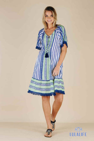 Mojito Dress Navy S