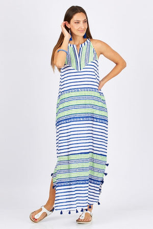 Mojito Maxi Dress Navy M
