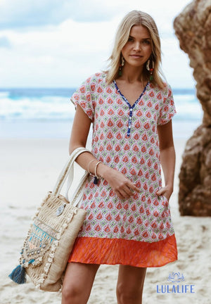 Sangria Sundress Melon S