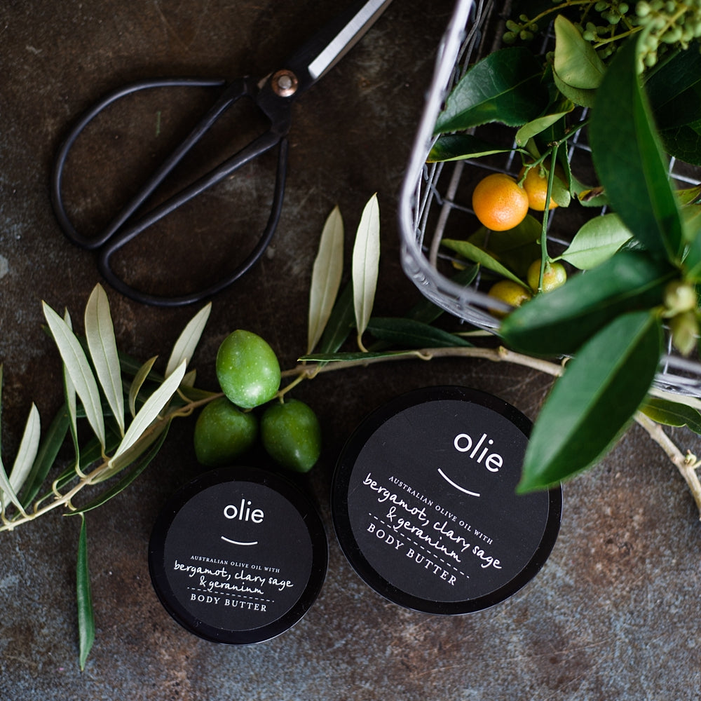 Olieve + Olie Body Butter 250ml - Lavender Rose Geranium