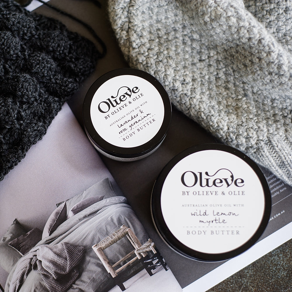 Olieve + Olie Body Butter 250ml - Wild Lemon Myrtle