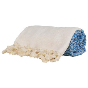 Turkish Towel Pale Blue - Thick
