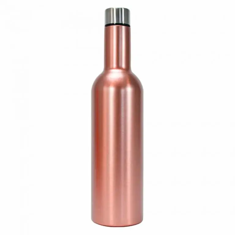 Insulated Wine Rose Gold