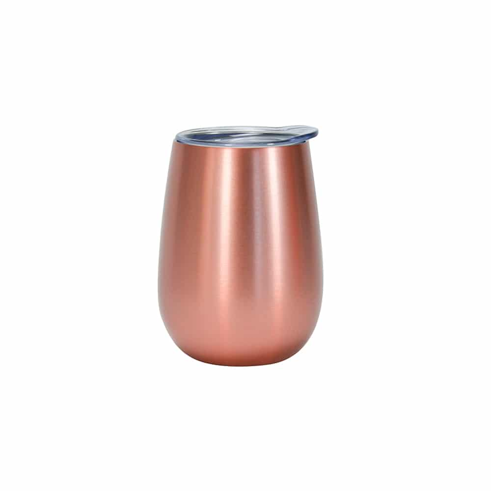 Insulated Wine Tumbler Rose Gold