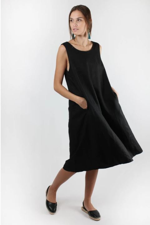 Trapeze Dress Black