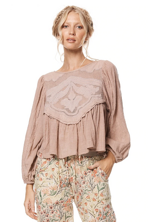 Willow Top - Dusty Pink
