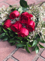The Classic Red Rose Dozen