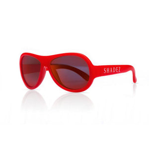SHADEZ Kids Sunglasses Classics Red Junior: 3-7 years