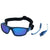 SHADEZ Sports Sunglasses Blue Junior: 3-7 years