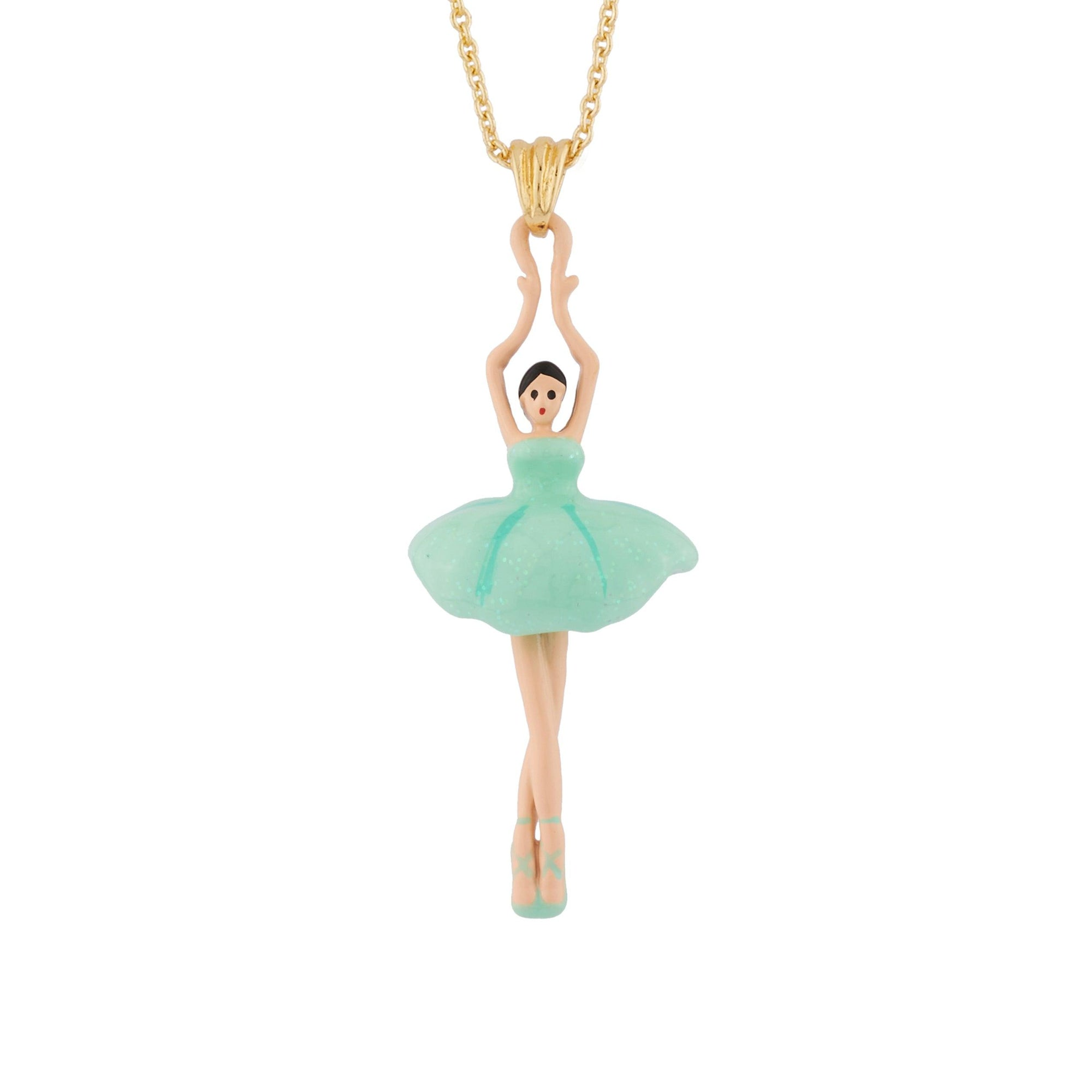 LES NÉRÉIDES Mini Ballerina And Blue Tutu Necklace