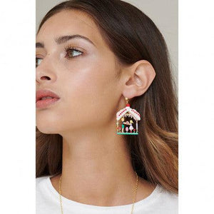 N2 BY LES NÉRÉIDES Hansel and gretel in the sweet house stud earrings