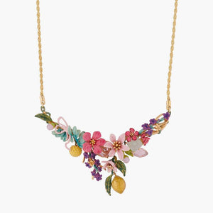 LES NÉRÉIDES Summer Scents Bouquet Collar Necklace