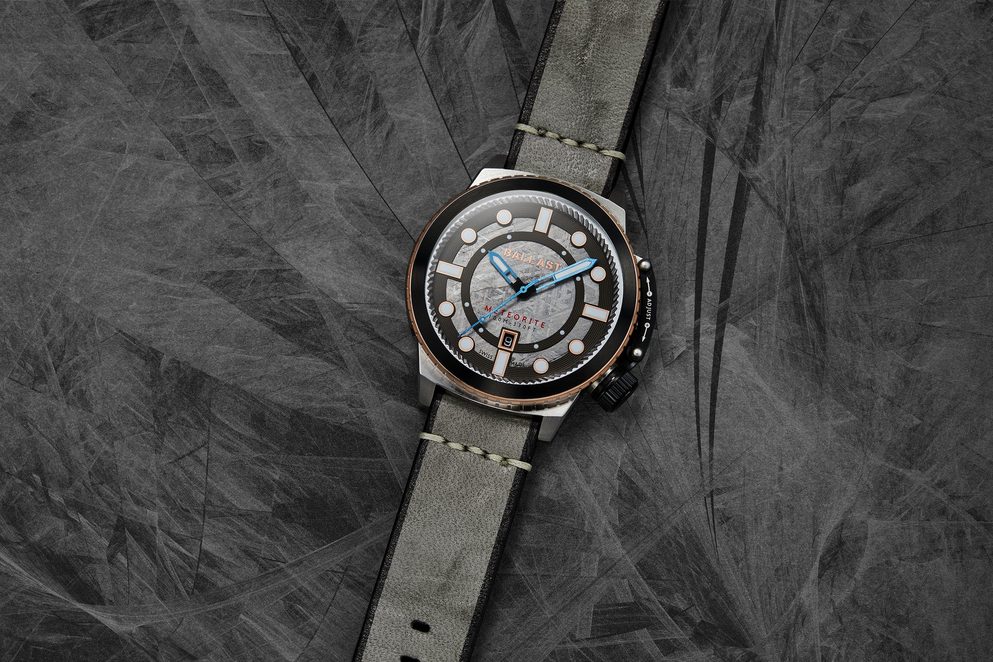 Trafalgar Conqueror Meteorite Swiss Made-Limited Edition BL-3139