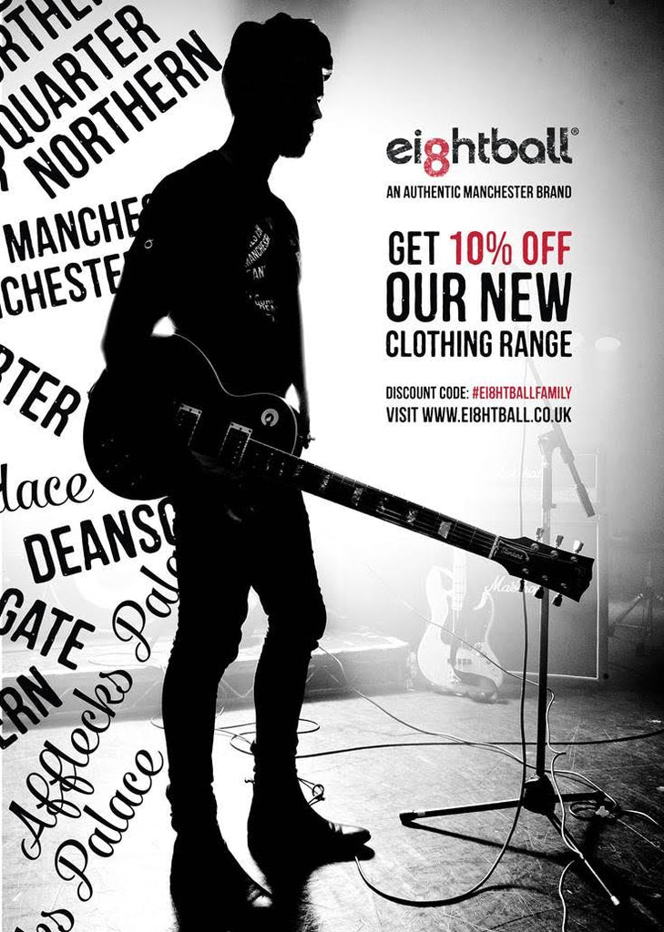 Get 10% off our NEW Clothing Range with Discount Code #ei8ghtballfamily
