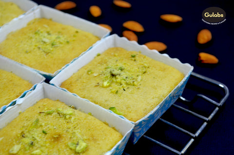 Gulabs Thandai Cake