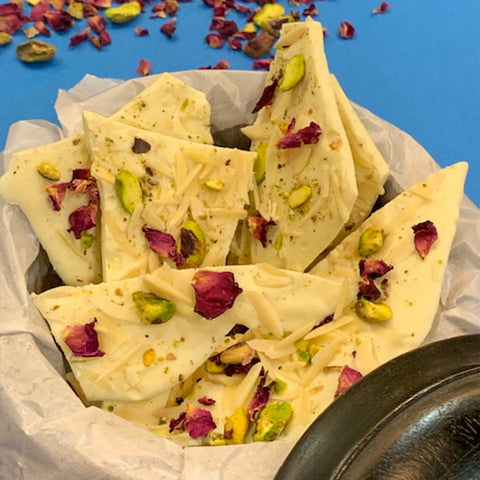 Chocolate Thandai Bark