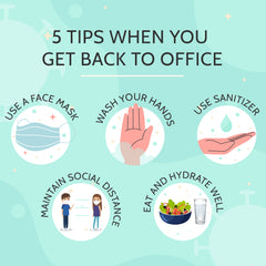 Stay safe at the workplace this pandemic!