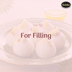 requirement for filling needed to make modak using Gulabs Rose Syrup