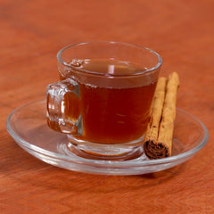 Cinnamon Elaichi Tea made with Gulabs Cinnamon Elaichi Syrup