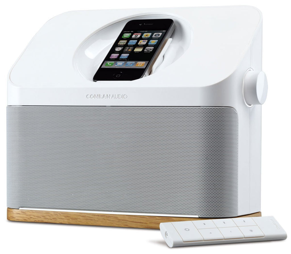 Conran Audio Bluetooth Speaker with iPhone / iPod Dock