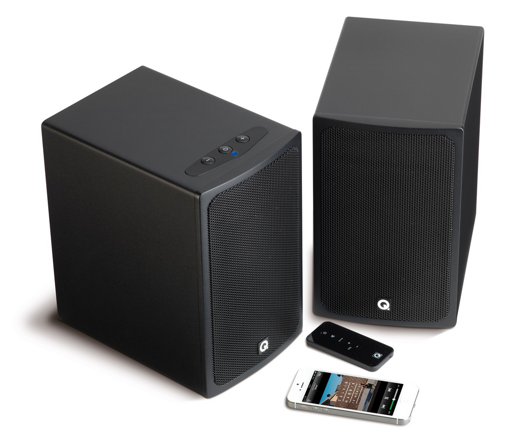 Q Acoustics BT3 Active Bluetooth Speakers