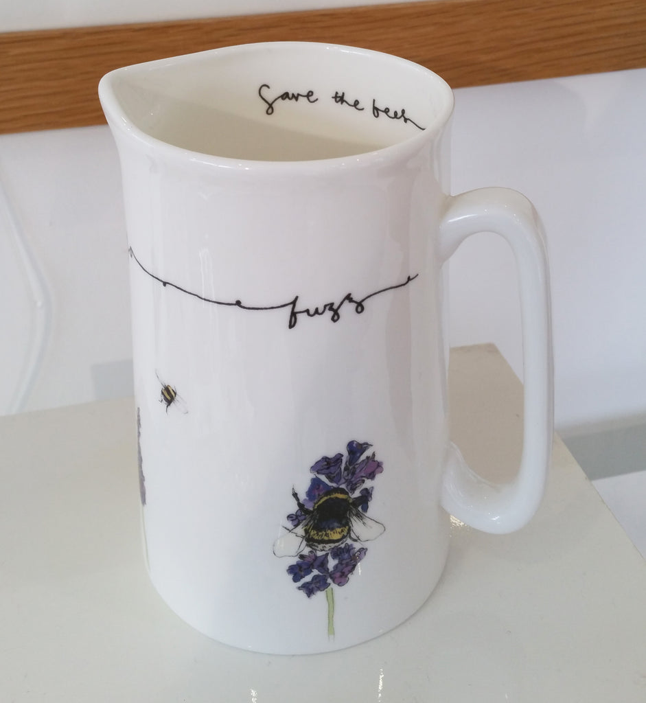 Save The Bees Jug By Alice Sheilds