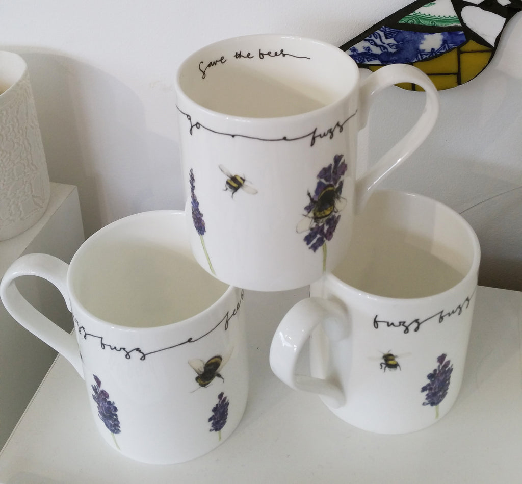 Save The Bees Mug By Alice Sheilds