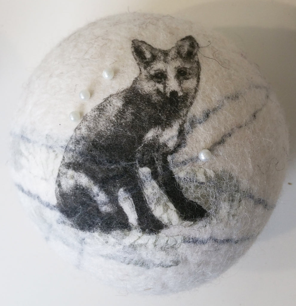 Felted Pin Cushion By Lindsey Tyson W19LT170