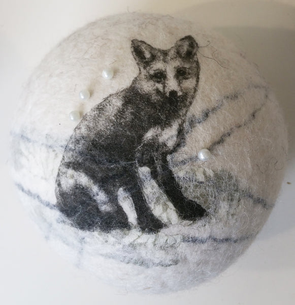 Felted Pin Cushion By Lindsey Tyson