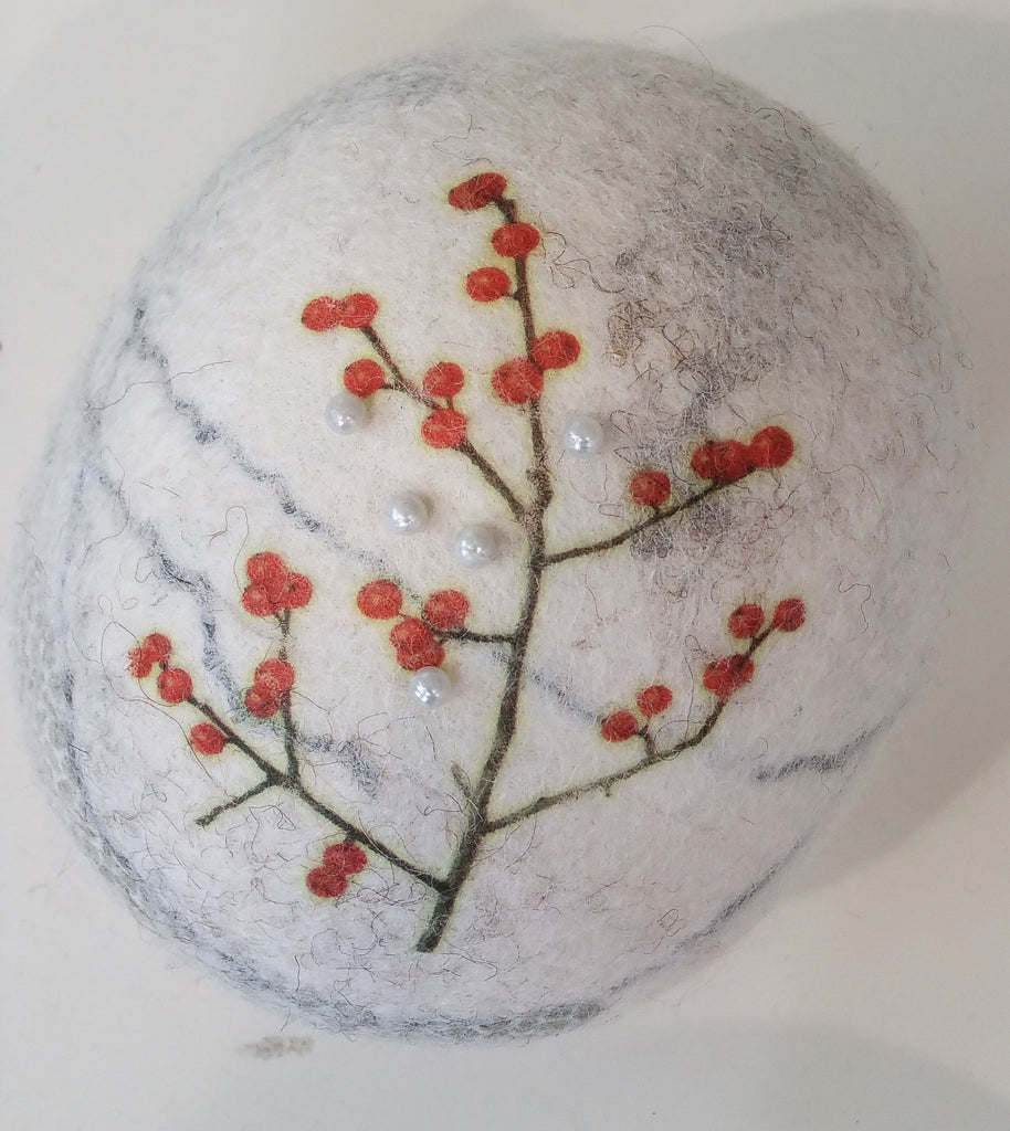 Felted Pin Cushion By Lindsey Tyson W19LT173