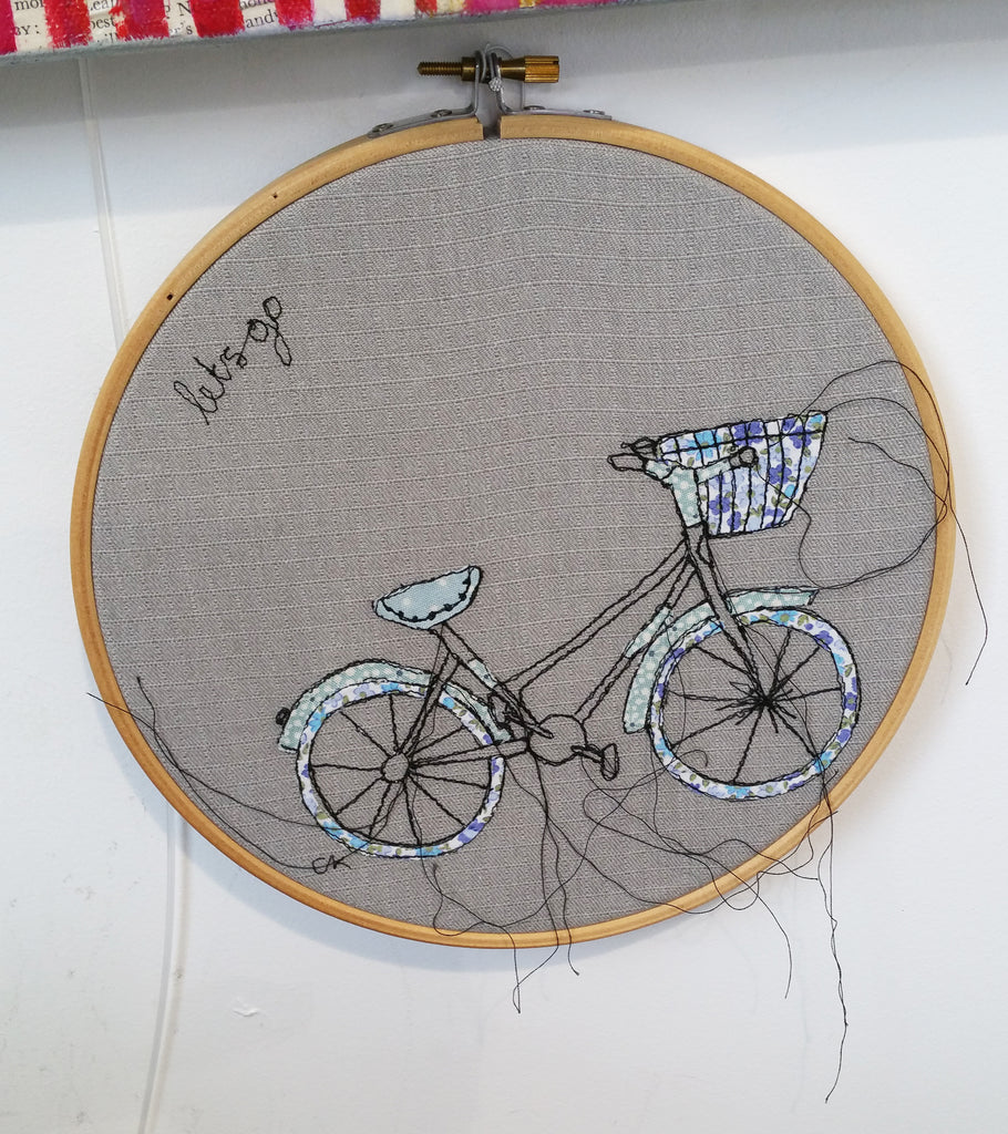 Free Motion Embroidery Hoop By Caroline Kirton S128CK4