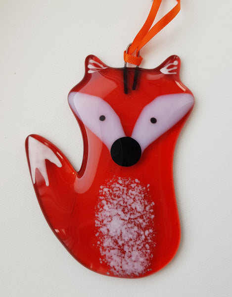 Hanging Glass Hare by Sarah Myatt S164SM74/S164SM75